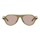 Oliver Peoples Green Emet Sunglasses