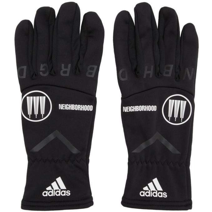 Photo: adidas Originals Black Neighborhood Edition Gloves