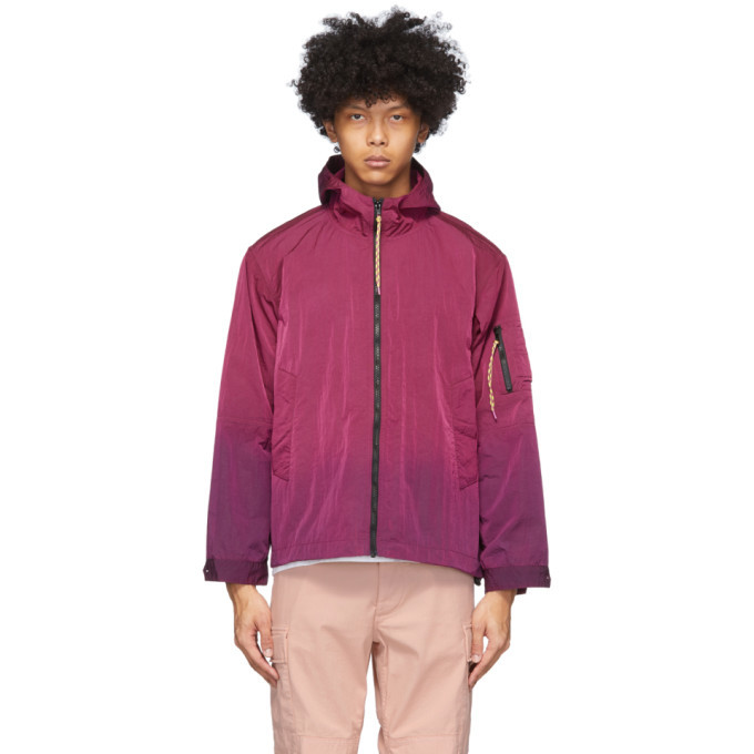 Photo: Aries Pink Ombre Dyed Windcheater Jacket