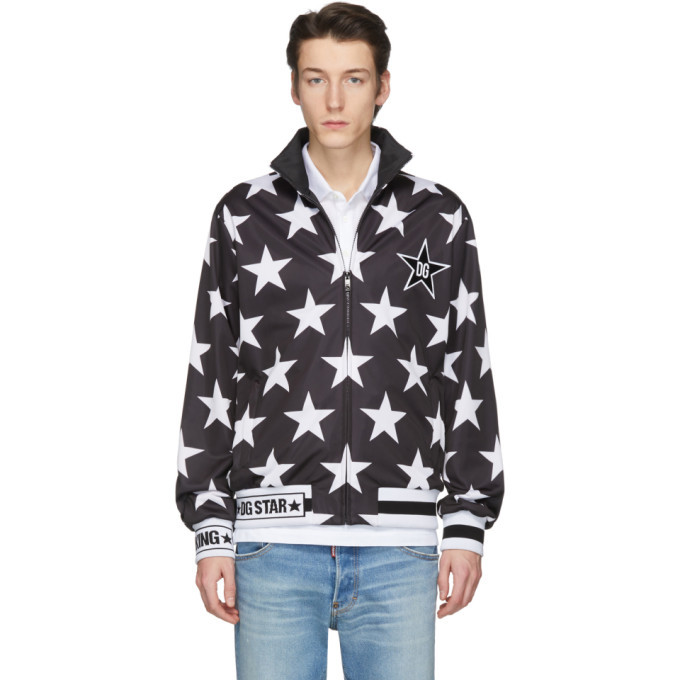 Photo: Dolce and Gabbana Black Millennial Star Jacket