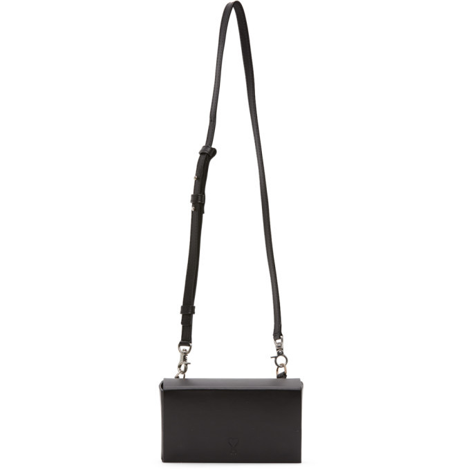 Photo: AMI Alexandre Mattiussi Black Small Box Messenger Bag
