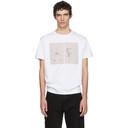 Raf Simons White Drugs Cover Slim Fit T-Shirt