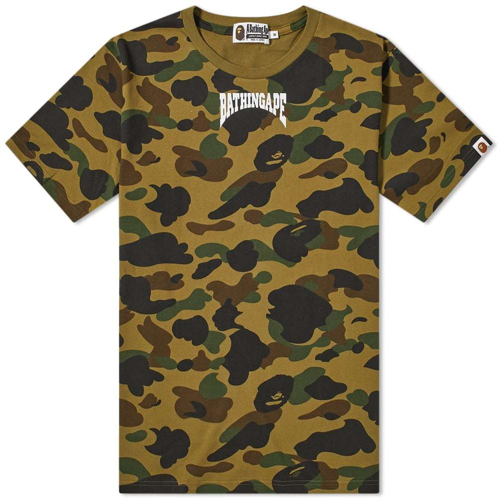 A Bathing Ape 1st Camo Bathing Ape Head Tee