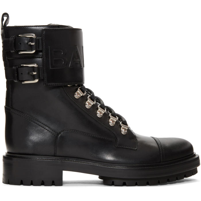Photo: Balmain Black Ranger Boots