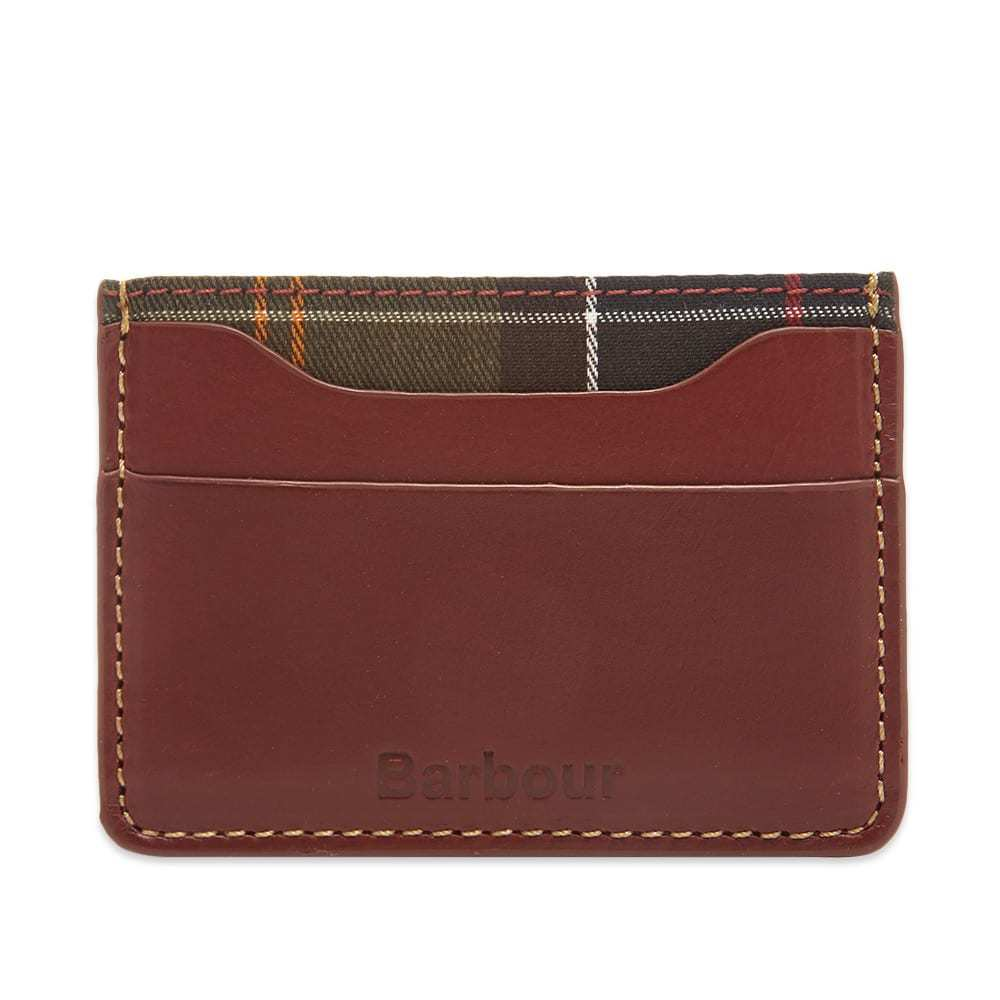 Photo: Barbour Hadleigh Leather Card Holder