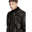 Belstaff Black Leather Clenshaw Jacket