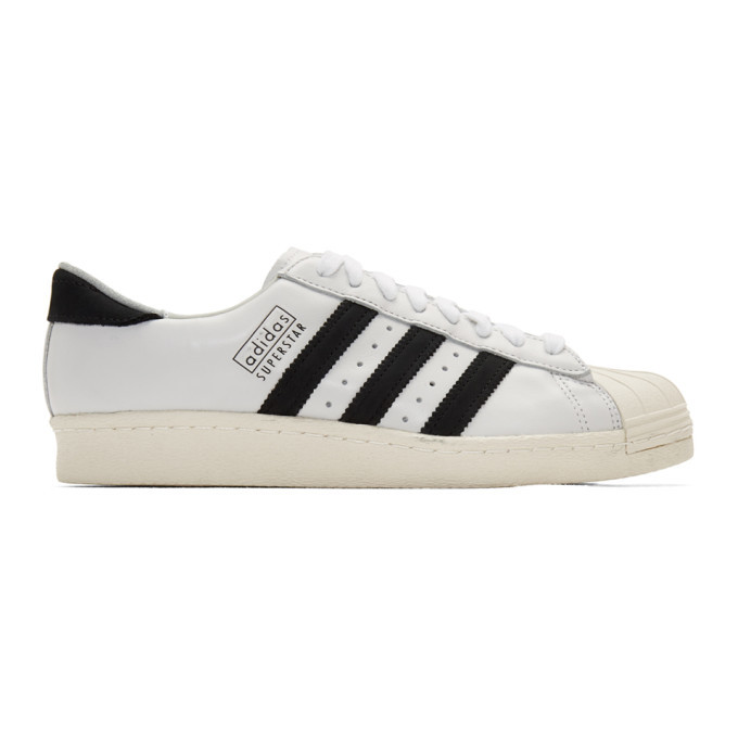 Photo: adidas Originals Off-White Superstar 80s Recon Sneakers