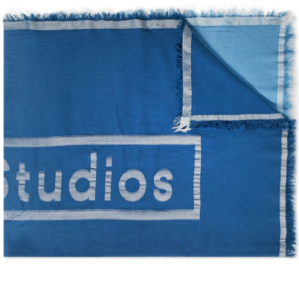Photo: Acne Studios Vinnie Large Throw Scarf