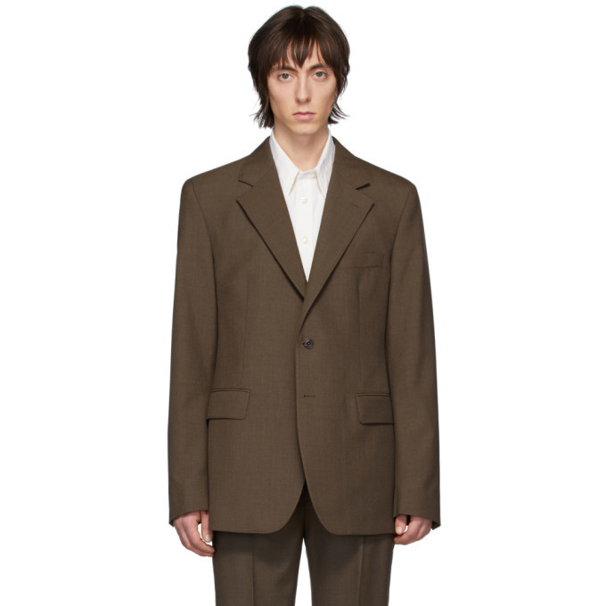 Photo: Lemaire Brown Wool Blazer