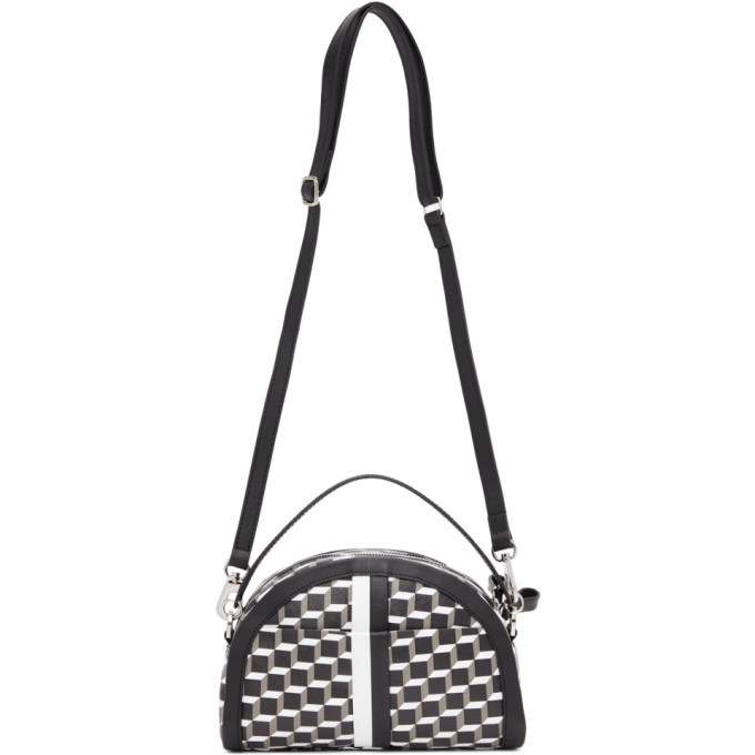 Photo: Pierre Hardy Black and White Cube Moon Messenger Bag