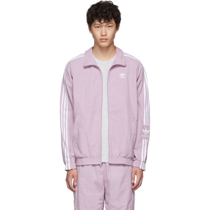 Photo: adidas Originals Purple Lock Up Track Jacket