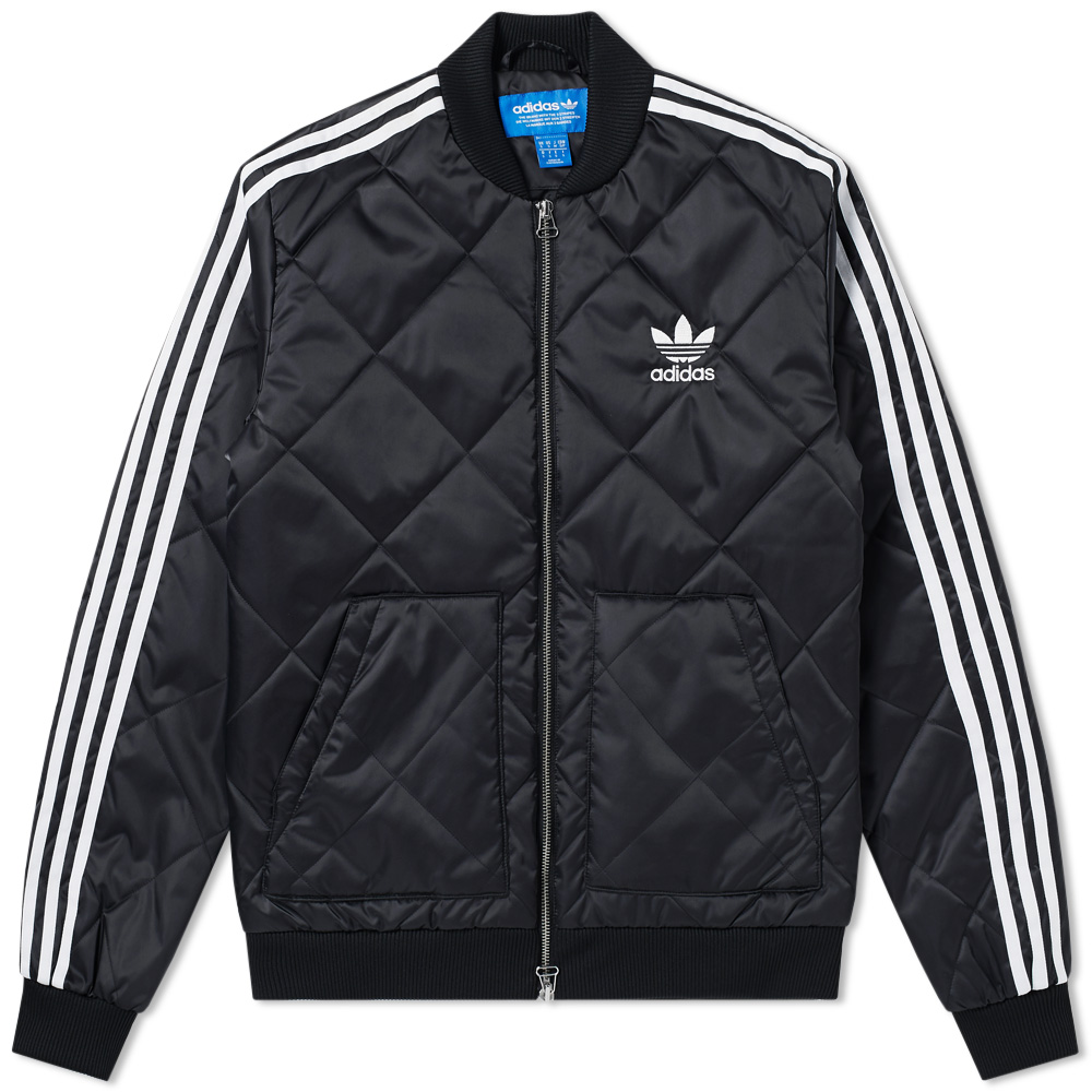 Adidas Quilted Superstar Track Top