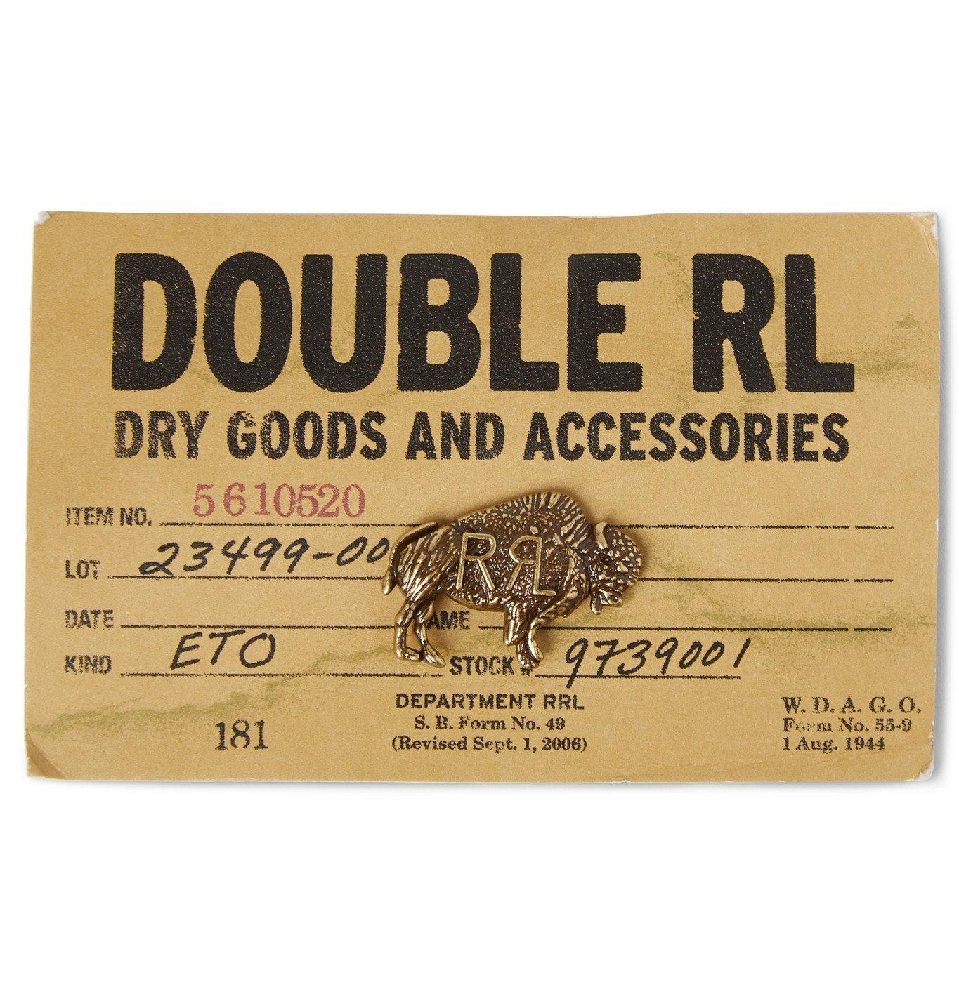 RRL - Buffalo Gold-Tone Pin - Gold