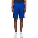 adidas Originals Blue 3D Trefoil 3-Stripes Shorts