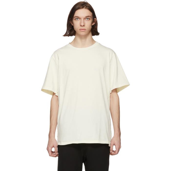 3.1 Phillip Lim Off-White Reconstructed T-Shirt