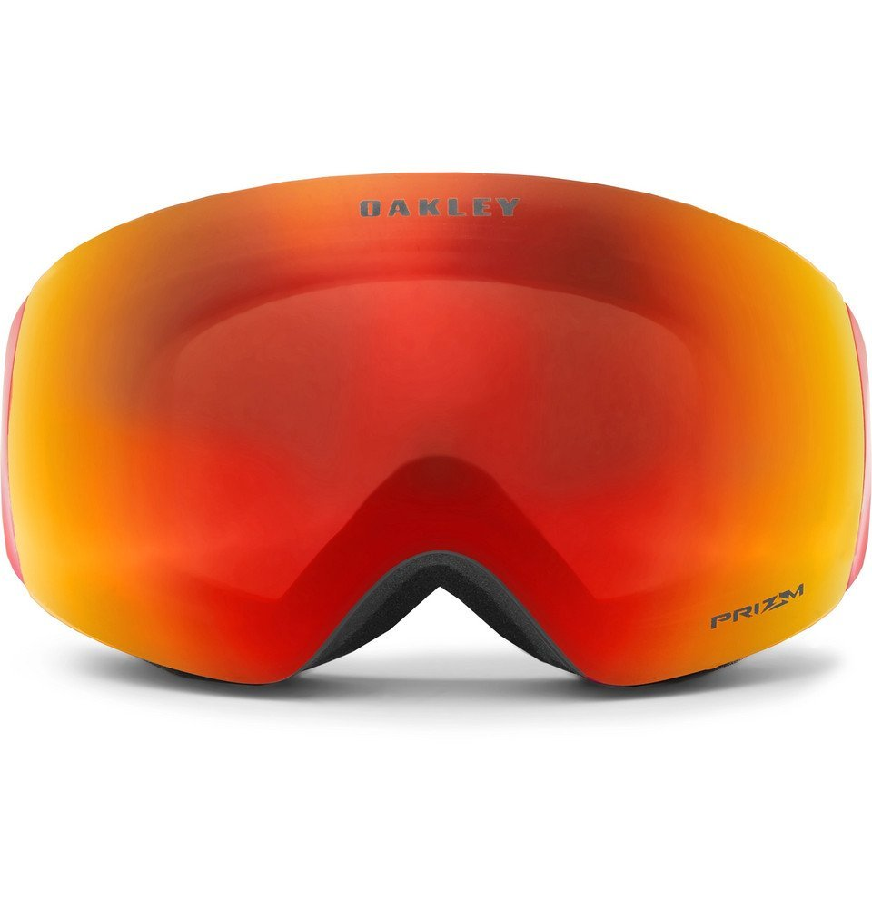 Photo: Oakley - Flight Deck XM Rimless Prizm Ski Goggles - Men - Orange