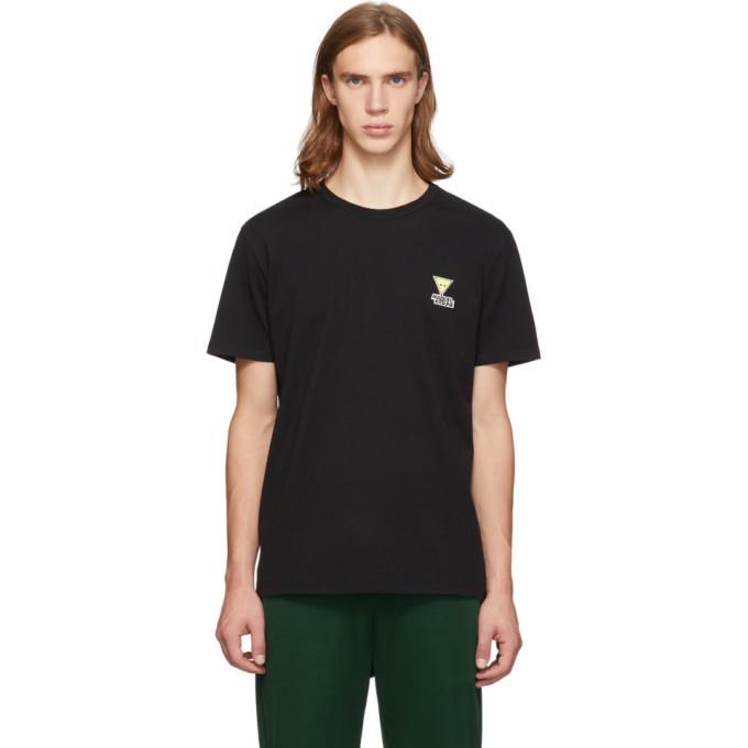 Photo: Maison Kitsune Black Smiley Fox T-Shirt