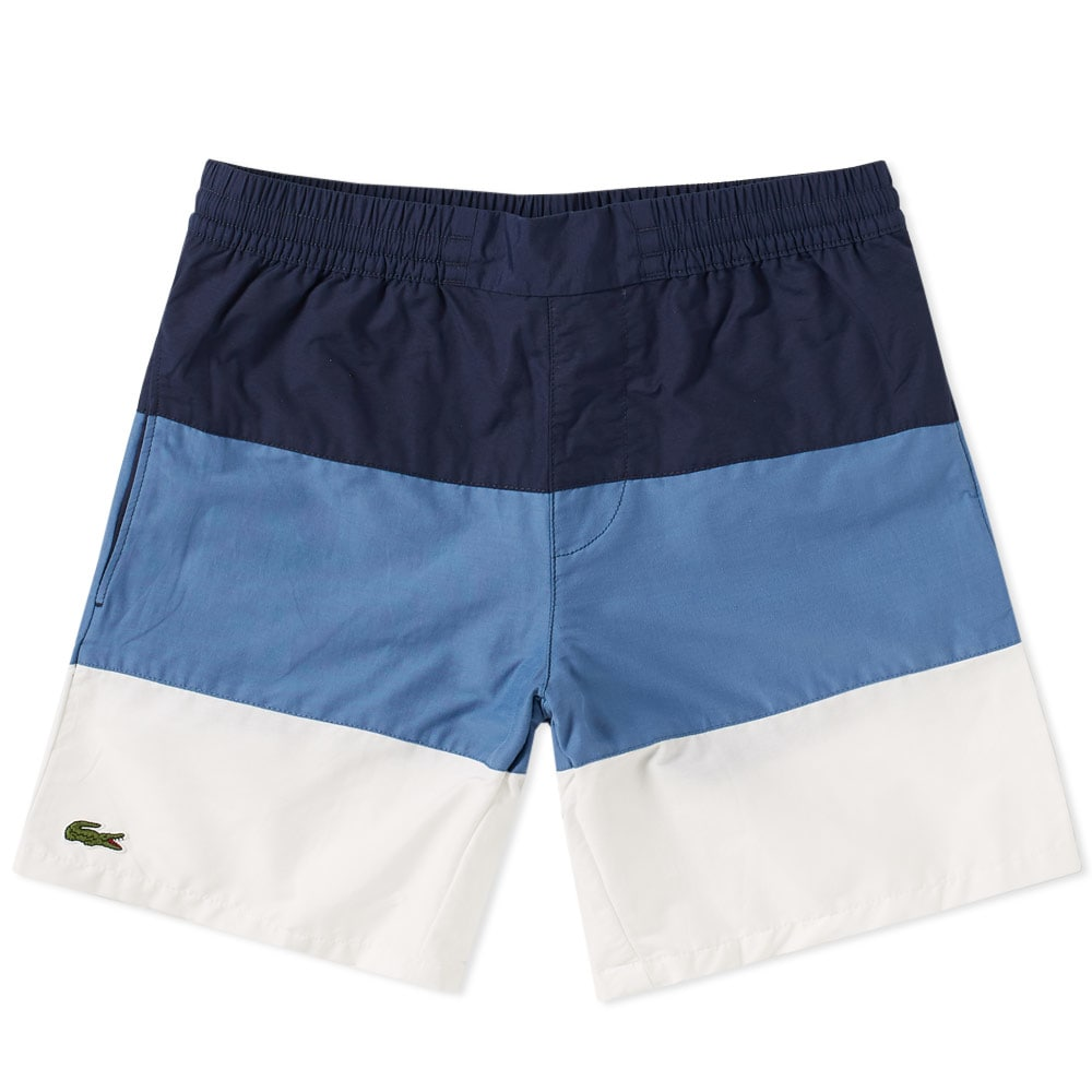 Photo: Lacoste Wide Stripe Swim Short