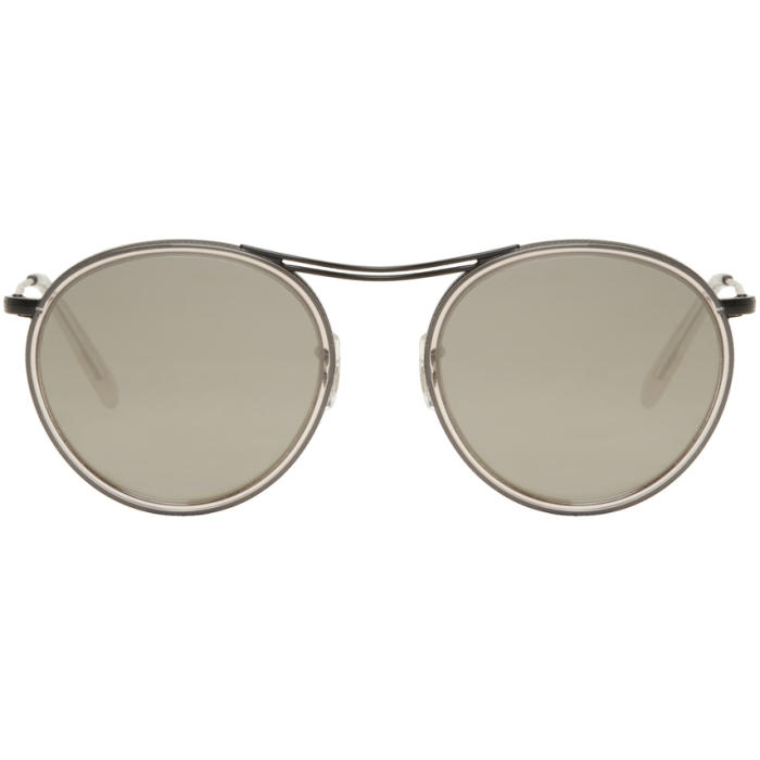 Oliver Peoples Black and Grey MP-3 30th Sunglasses