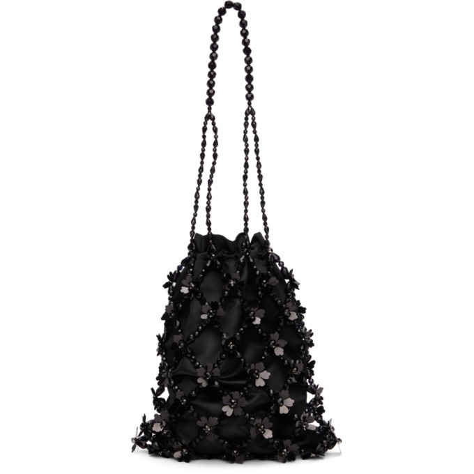 Photo: Simone Rocha Black Beaded Market Bag