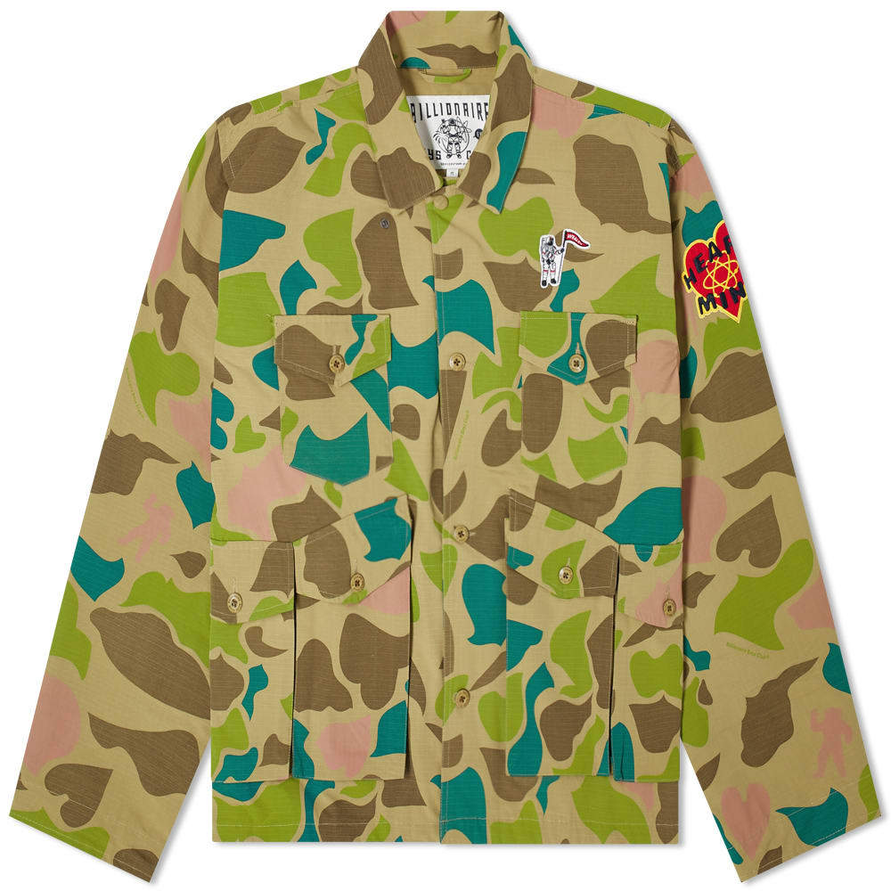 Photo: Billionaire Boys Club Camo Field Jacket