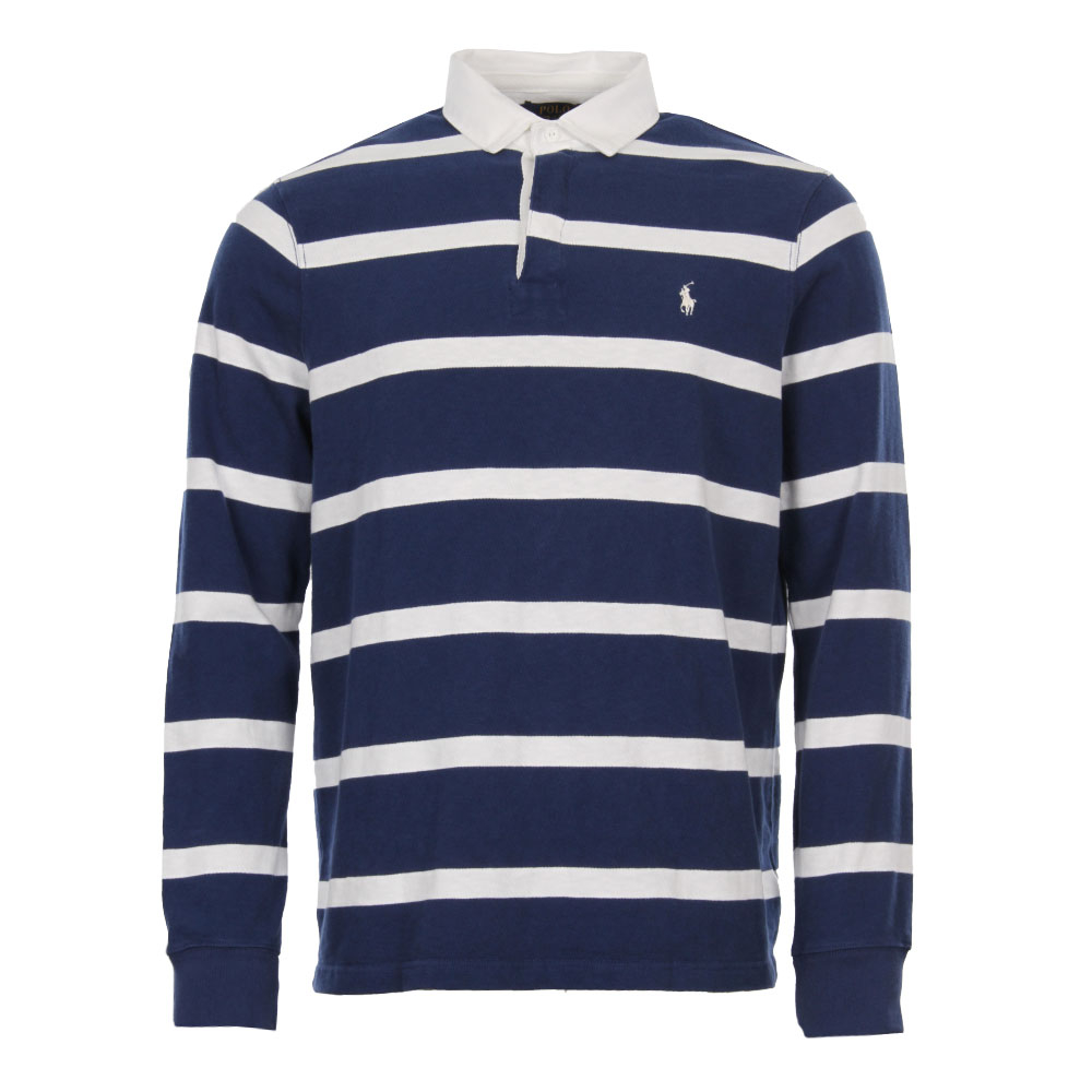 Photo: Rugby Shirt - Navy / White