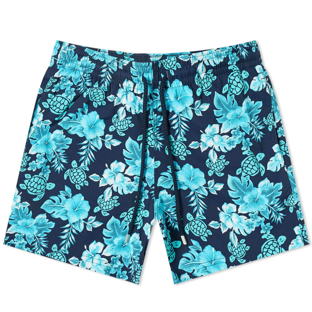 Photo: Vilebrequin Moorise Hawaiian Turtle Swim Short