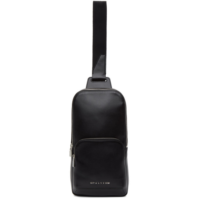 Photo: 1017 ALYX 9SM Black Leather Crossbody Bag