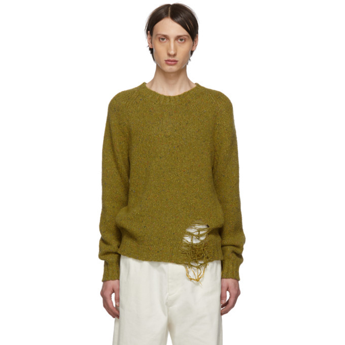 Photo: Maison Margiela Yellow Gauge 3 Sweater