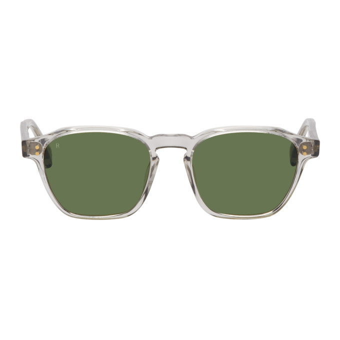 Photo: RAEN Transparent Aren Sunglasses