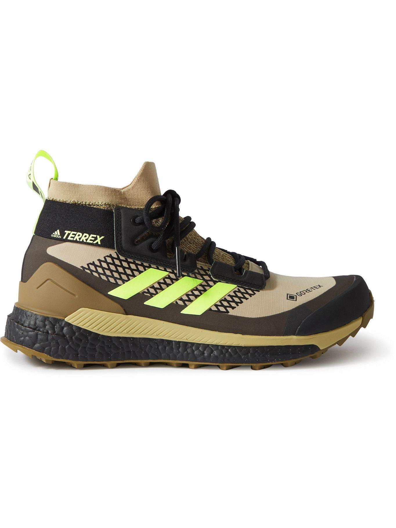 Photo: adidas Sport - Terrex Free Hiker GORE-TEX Hiking Shoes - Green