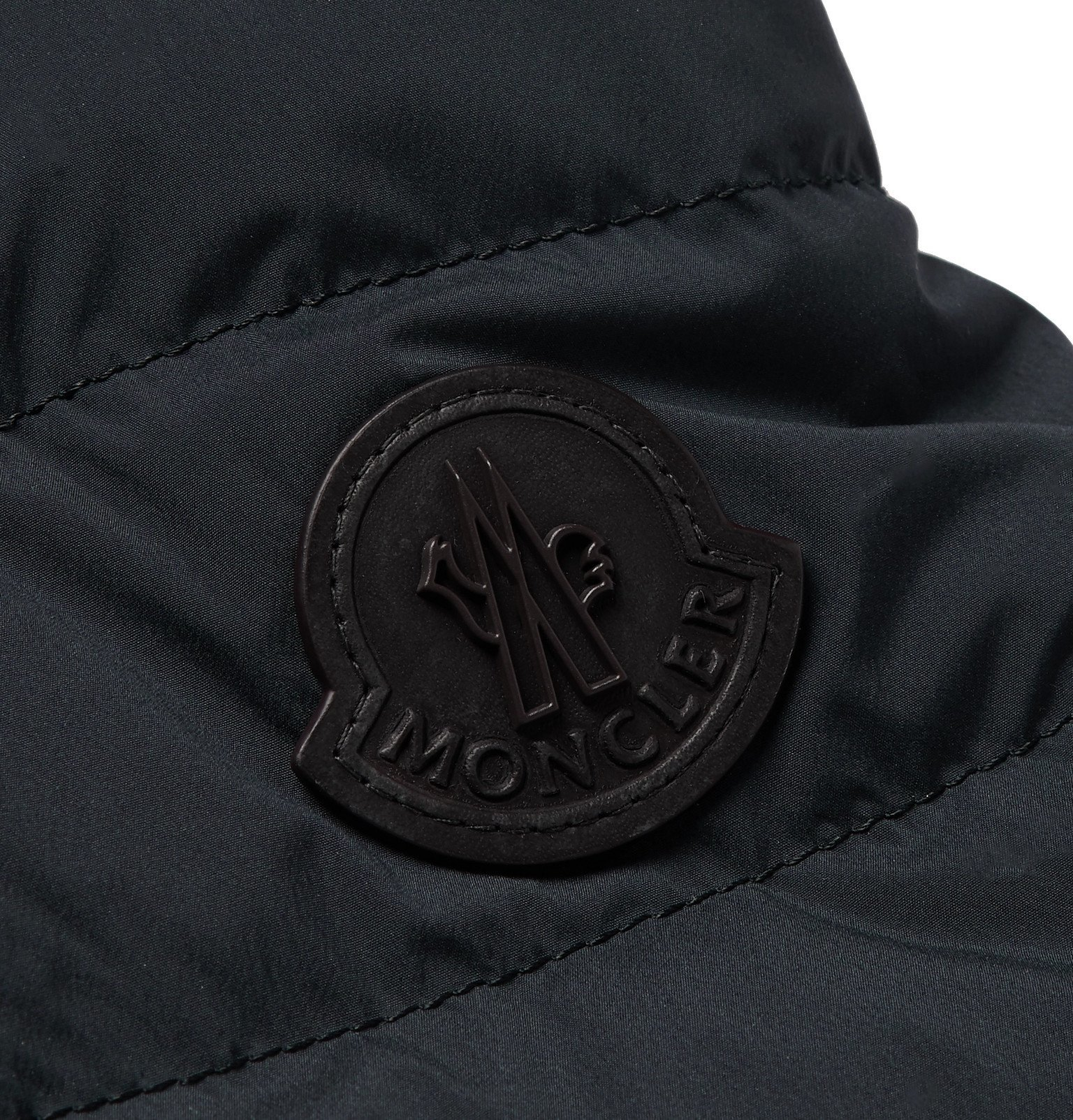 Moncler - Slim-Fit Quilted Shell Down Blazer - Blue
