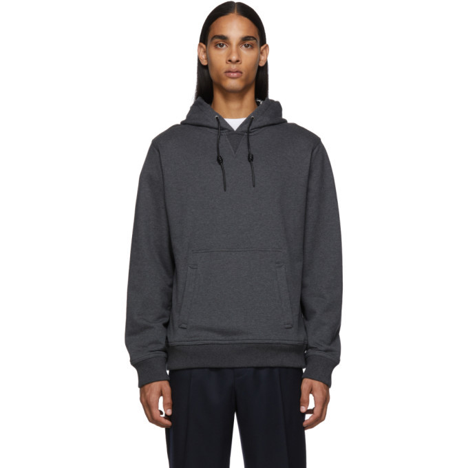 Photo: Salvatore Ferragamo Grey Allganico Hoodie