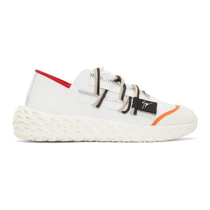 Photo: Giuseppe Zanotti White Urchin Sneakers