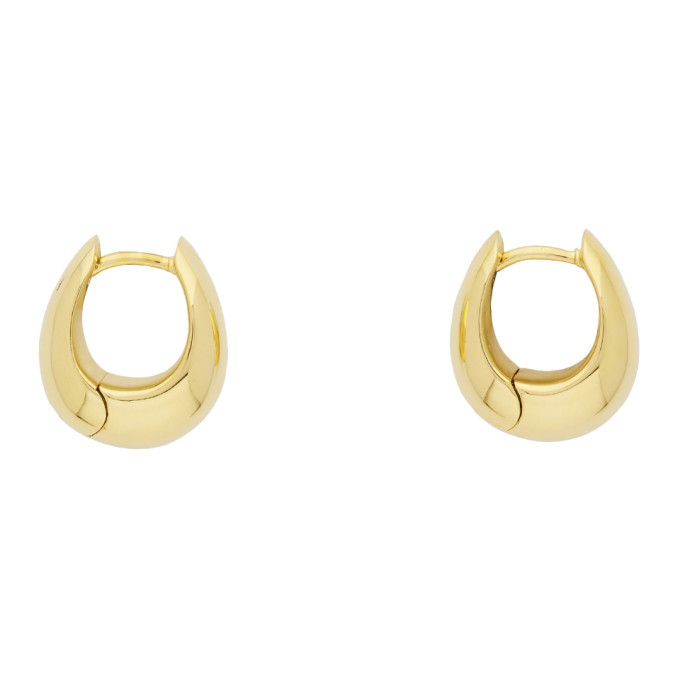 Photo: Tom Wood Gold Ice Hoop S Earrings