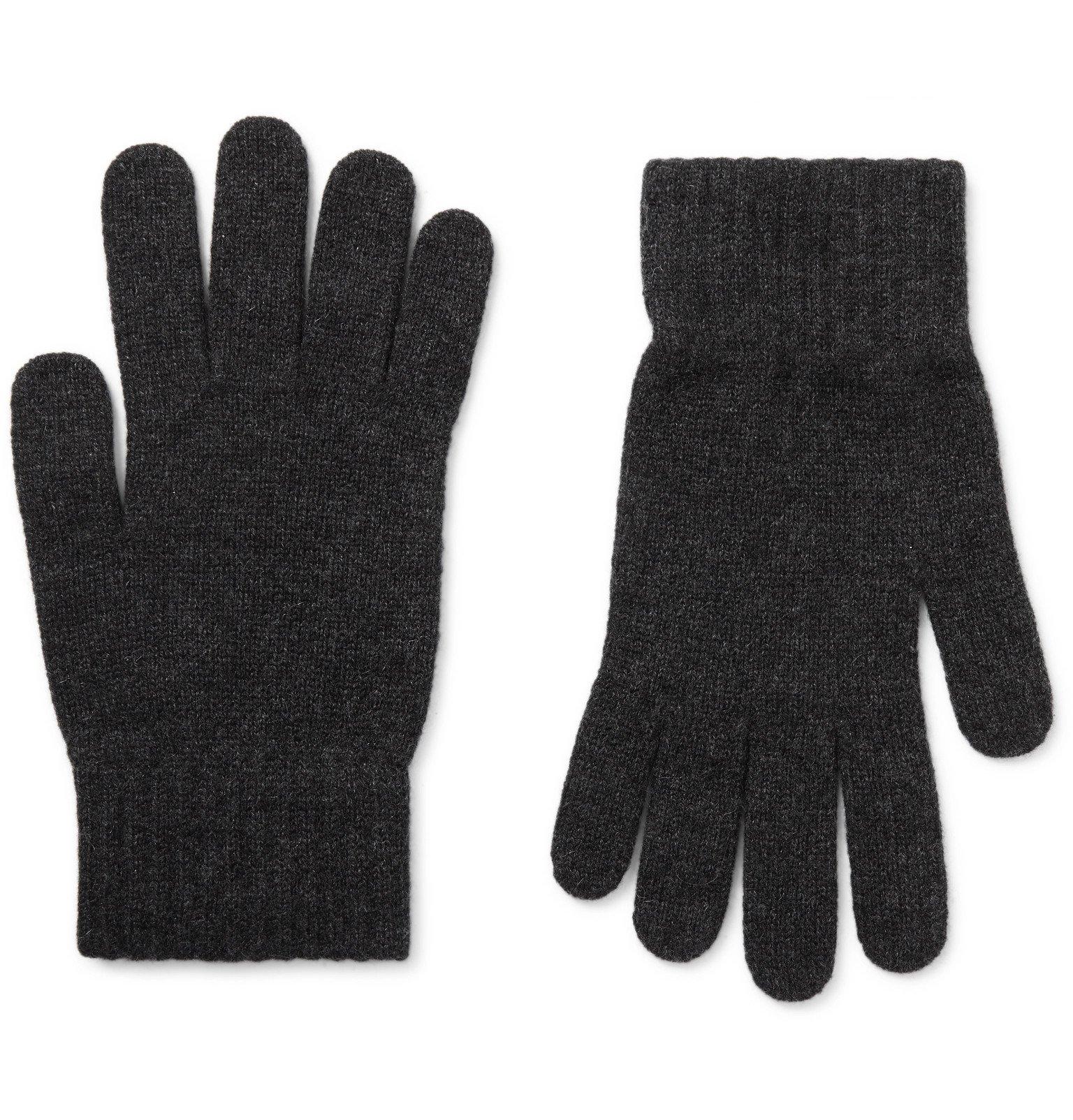 Photo: William Lockie - Cashmere Gloves - Gray