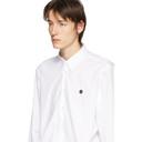Raf Simons White Smiley Regular Fit Shirt