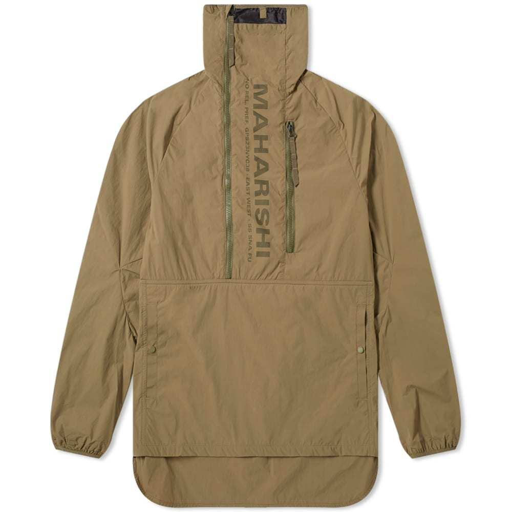 Photo: Maharishi Onibegie Mandela Popover Jacket