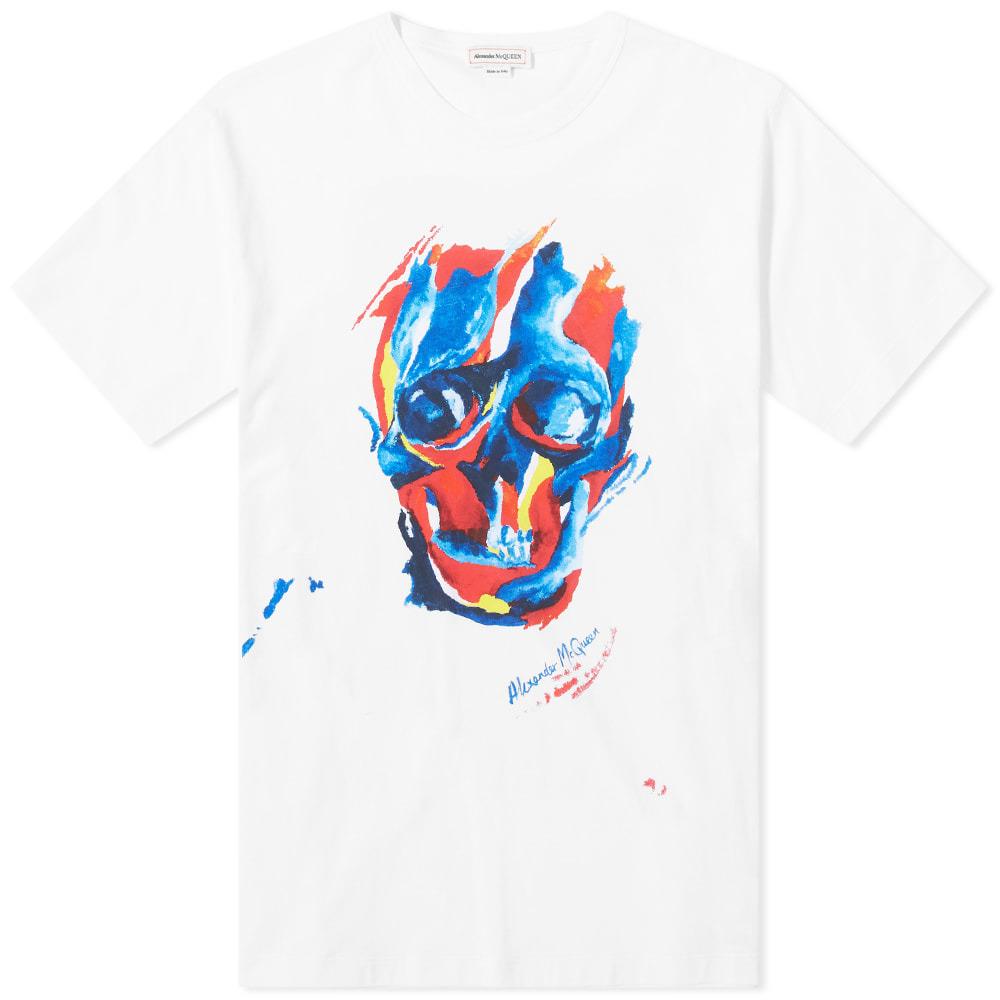 Photo: Alexander McQueen Abstract Skull Print Tee