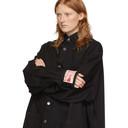 Raf Simons Black Denim Big Fit Jacket