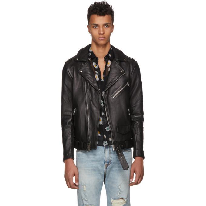 Photo: Stolen Girlfriends Club Black Joey Biker Leather Jacket