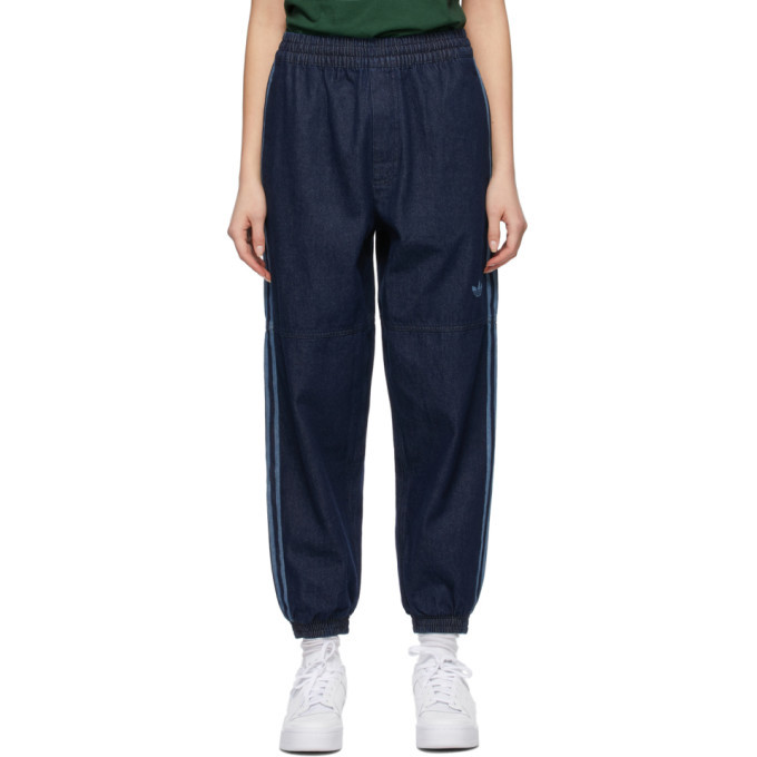 adidas Originals Indigo Track Pant Jeans