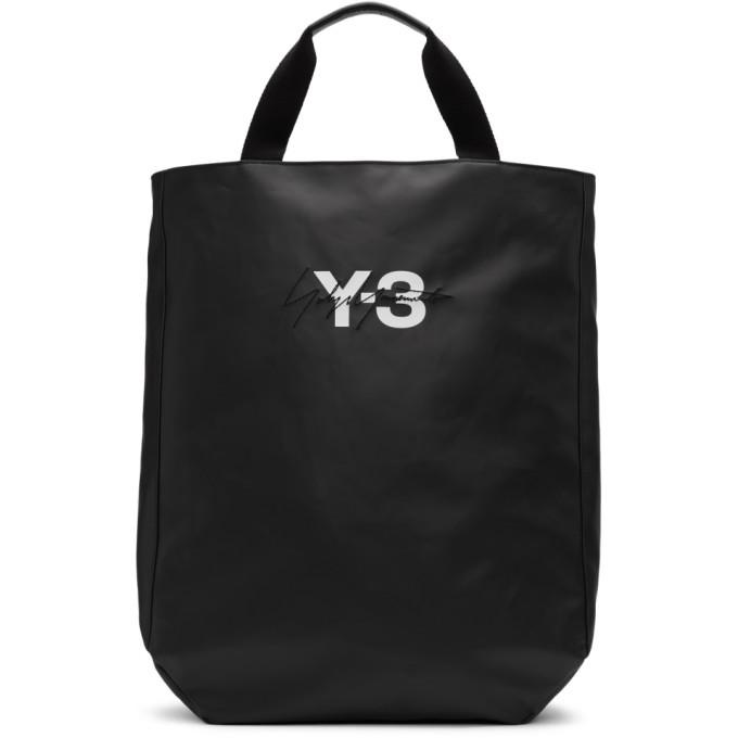 Photo: Y-3 Black Logo Tote
