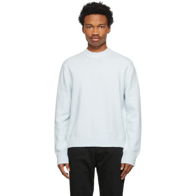 Photo: Acne Studios Blue Cotton Sweater