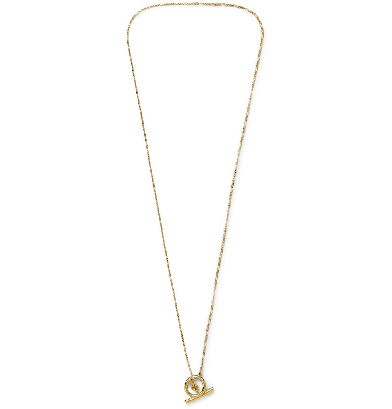 Photo: Bottega Veneta - Gold-Tone Silver Necklace - Gold