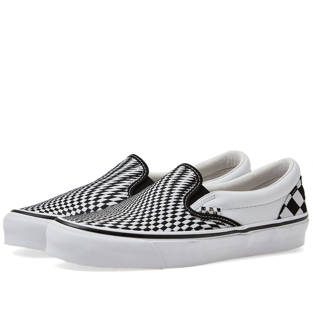 Photo: END. x Vans OG Classic Slip On LX 'Vertigo' Black & True White