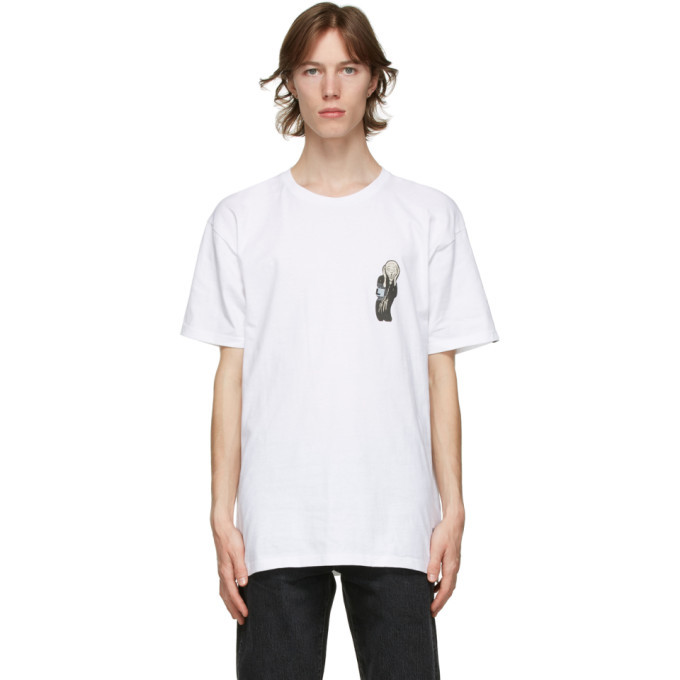 Photo: Vans White MoMA Edition Munch T-Shirt