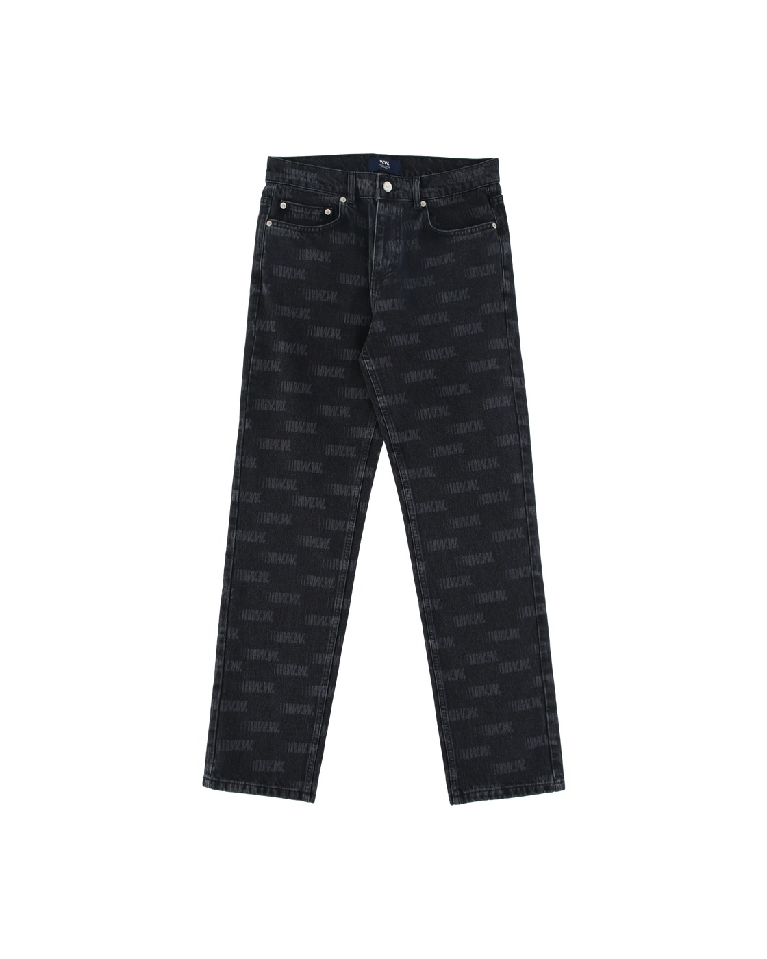 Photo: Wood Wood Gil Jeans Black Aop