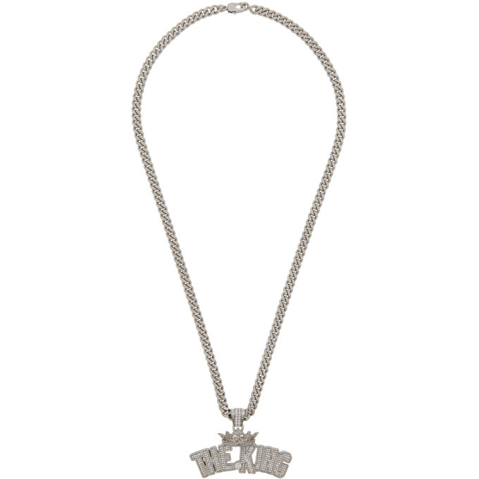 Photo: Dolce and Gabbana Silver The King Necklace
