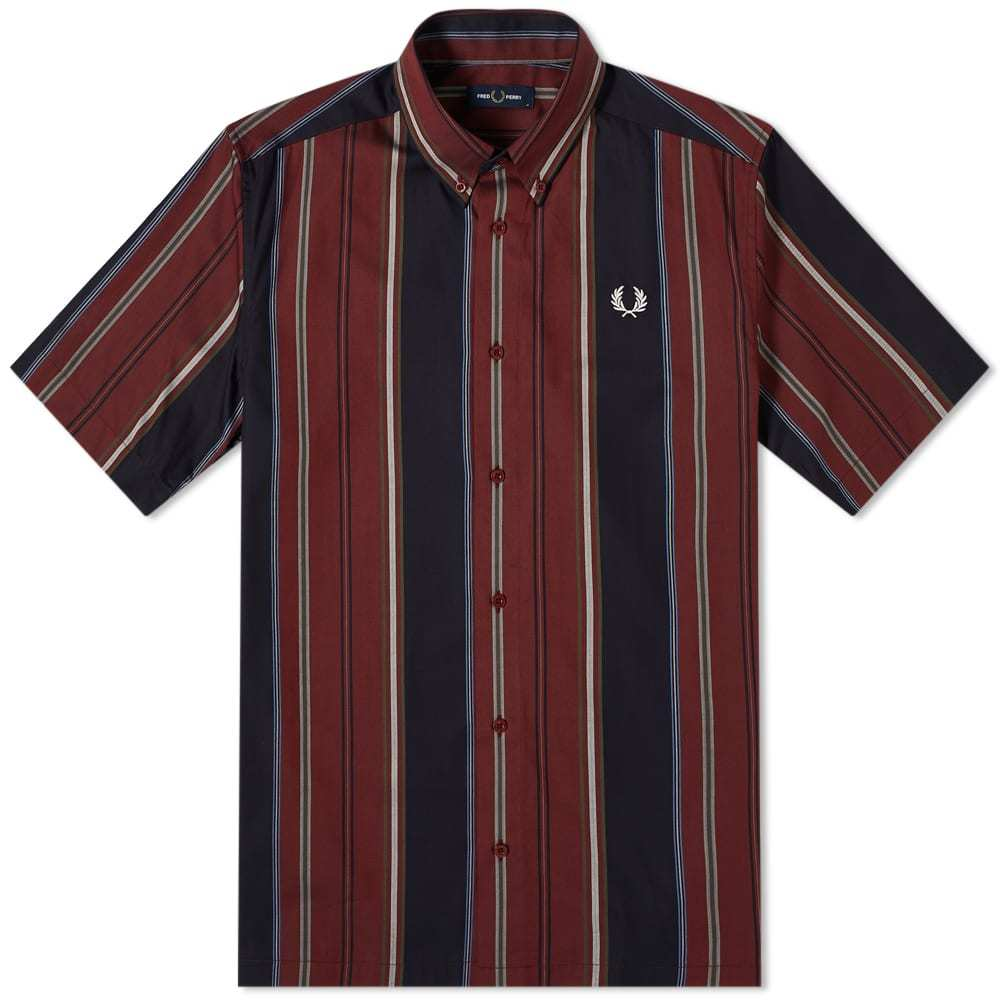 Photo: Fred Perry Authentic Button Down Stripe Shirt